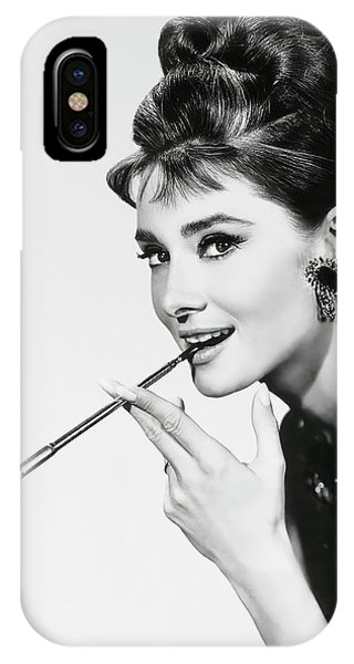 Leading Actress iPhone Case - Holly Golightly 1961 by Daniel Hagerman