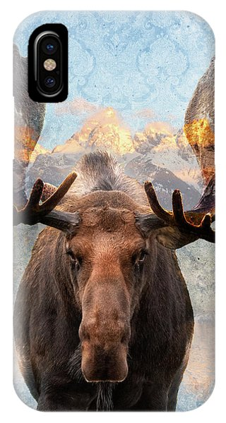 Hometown Moose IPhone Case