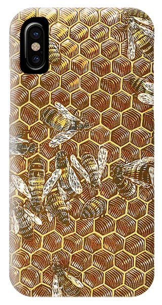 Honey Bees IPhone Case