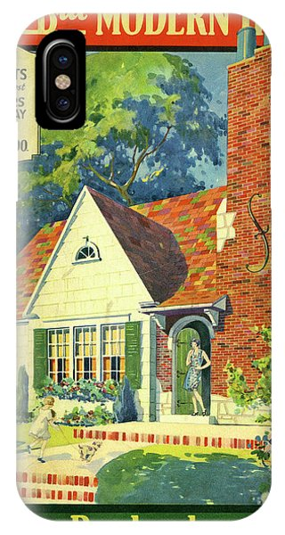 Honor Bilt Modern Homes Sears Roebuck And Co 1930 IPhone Case