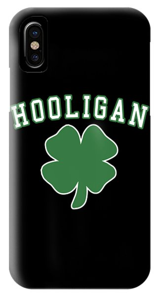St. Patricks Day iPhone Case - Hooligan by Flippin Sweet Gear
