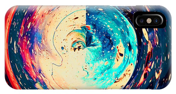 Time Traveler iPhone Case - Horizon by Raquel Gregory