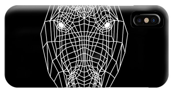 Lynx iPhone Case - Horse Mesh by Naxart Studio