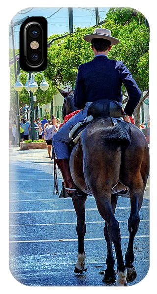 Horse Rider II IPhone Case