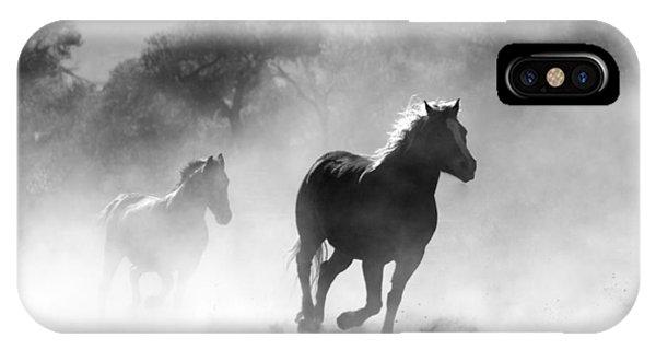 Horses On The Run IPhone Case