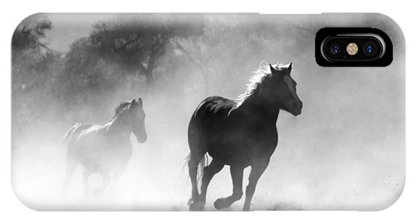 Horses On The Run IPhone Case