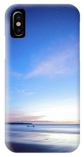 Horses Play In The Surf At Twilight IPhone Case