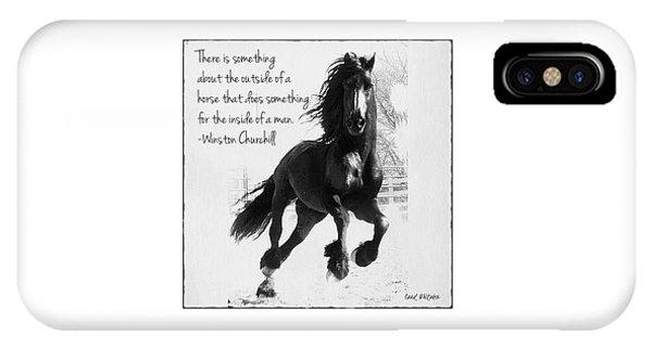 Horse's Profound Spirit  IPhone Case