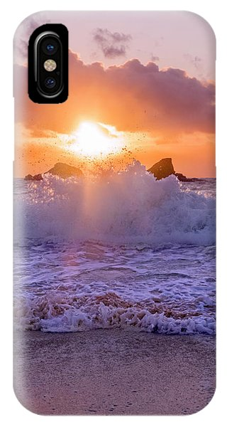 Carribbean iPhone Case - Horseshoe Bay Beach Bermuda Sunrise by Betsy Knapp