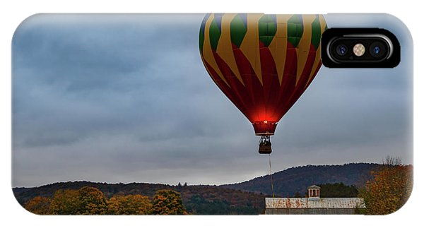 Hot Air Balloon At Woodstock Vermont IPhone Case