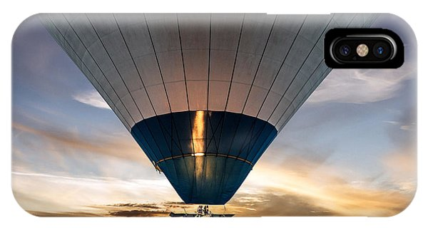 Cappadocia iPhone Case - Hot Air Balloon In The Sky by Vlada Zhi
