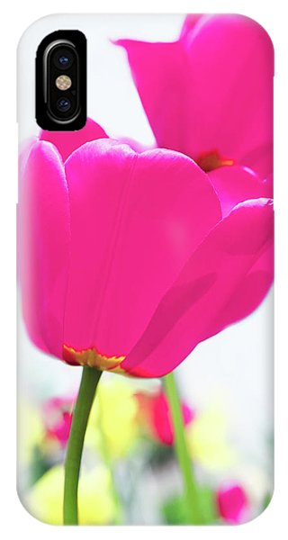 iPhone Case - Hot Pink Prelude by Emily Johnson