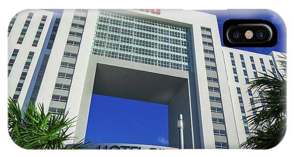 Hotel Riu Palace In Cancun IPhone Case
