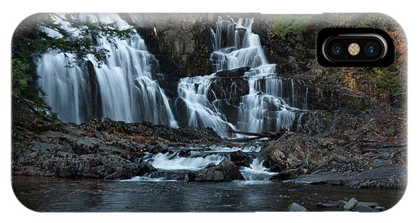 IPhone Case featuring the photograph Houston Brook Falls by Rick Hartigan