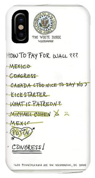 How To Pay For Wall  IPhone Case