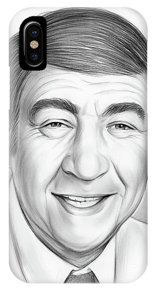 Sketch iPhone Case - Howard Cosell by Greg Joens