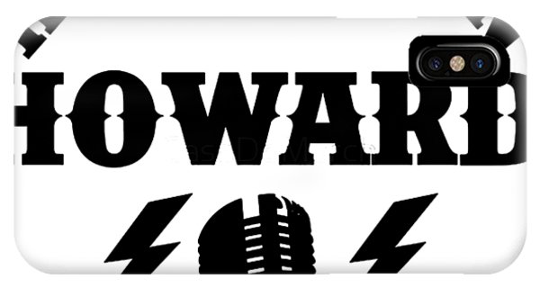 Howard Stern iPhone Case - Howard Is Live by Fermain Alambana