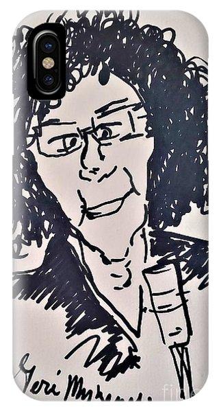 Howard Stern iPhone Case - Howard Stern by Geraldine Myszenski