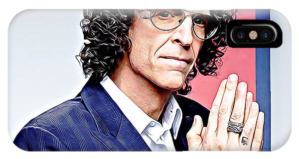 Howard Stern iPhone Case - Howard Stern by Queso Espinosa