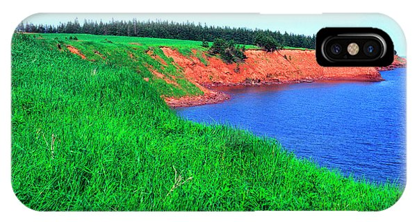 iPhone Case - Howe Point Prince Edward Island by Thomas R Fletcher