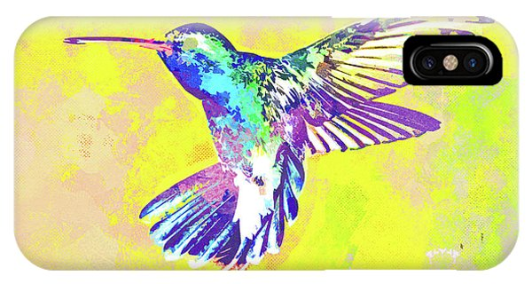 iPhone Case - Hummingbird Dance I by Chris Andruskiewicz