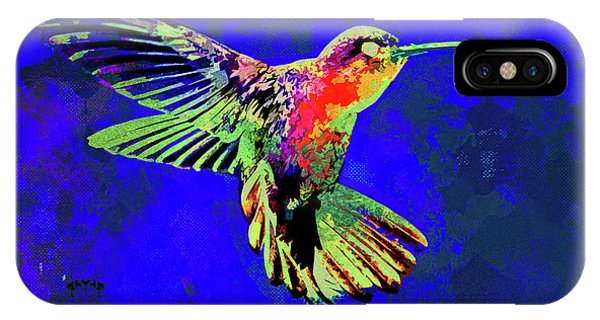iPhone Case - Hummingbird Dance II by Chris Andruskiewicz