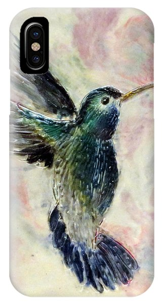 Hummingbird Flight IPhone Case