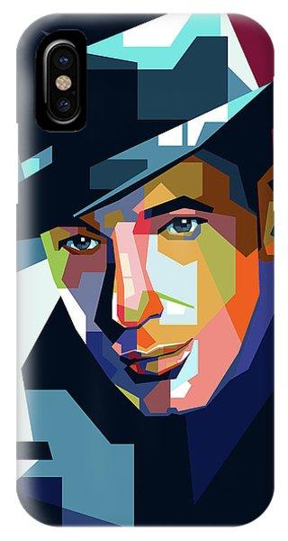 Humphrey Bogart IPhone Case
