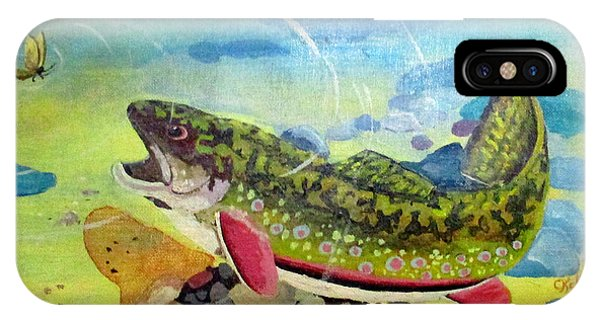 Hungry Trout IPhone Case