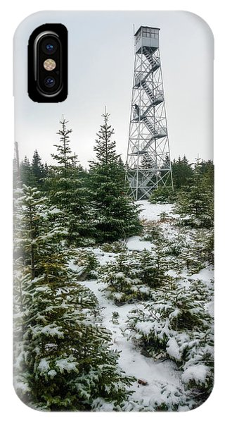Hunter Mountain Fire Tower IPhone Case