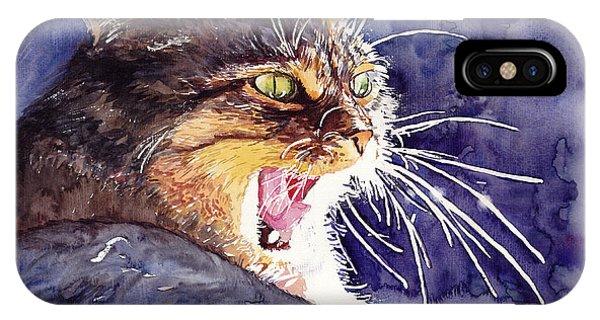 Kitten iPhone Case - Hunter by Suzann Sines