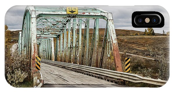 IPhone Case featuring the photograph Hwy 552 Bridge by Brad Allen Fine Art