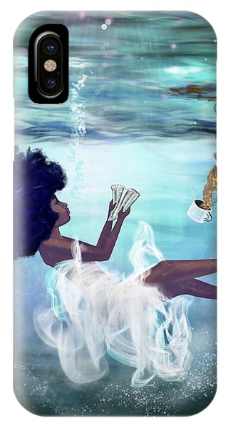 Love iPhone Case - I Aint Drowning by Artist RiA