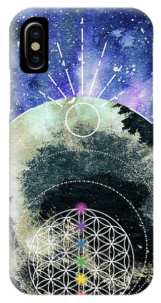 IPhone Case featuring the digital art I Am by Bee-Bee Deigner
