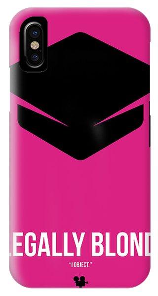 Blond iPhone Case - I Object by Naxart Studio