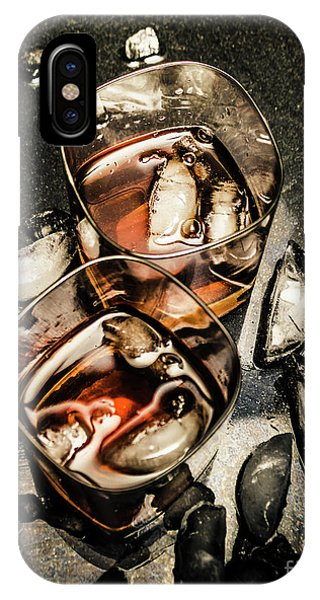 Amber iPhone Case - Ice Breaker by Jorgo Photography - Wall Art Gallery