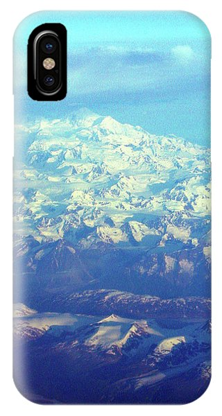 Ice Covered Mountain Top IPhone Case