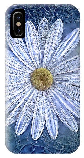 Ice Daisy Flower IPhone Case