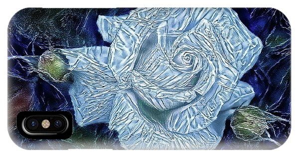 Ice Rose IPhone Case