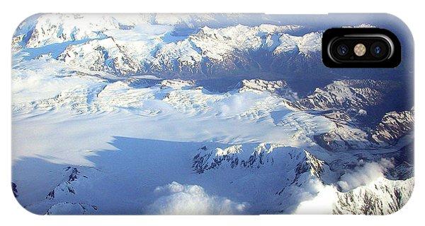 Icebound Mountains IPhone Case
