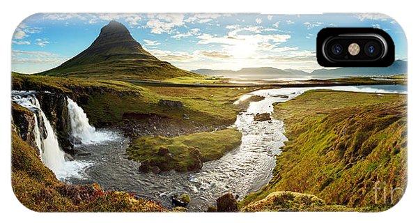 Beautiful Sunrise iPhone Case - Iceland Landscape by Ttstudio