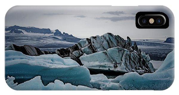 Icy Stegosaurus IPhone Case