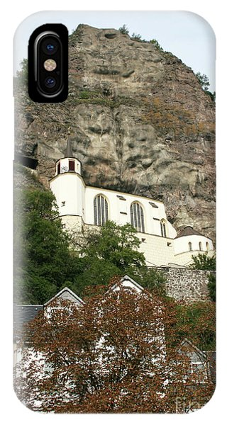 IPhone Case featuring the photograph Idar-oberstein Felsenkirche by PJ Boylan