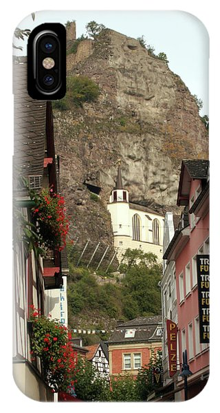 IPhone Case featuring the photograph Idar-oberstein Street View by PJ Boylan