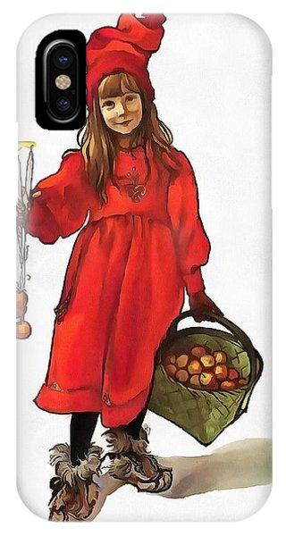 Iduna And Her Magic Apples IPhone Case