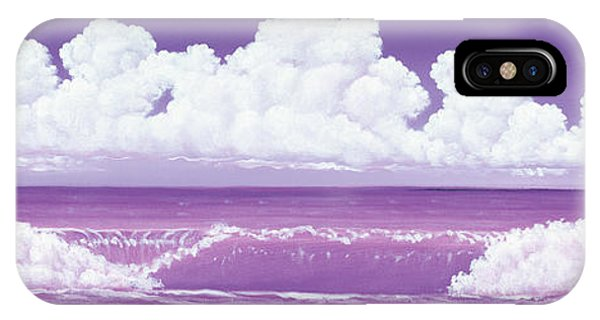 If The Sky Was Purple IPhone Case