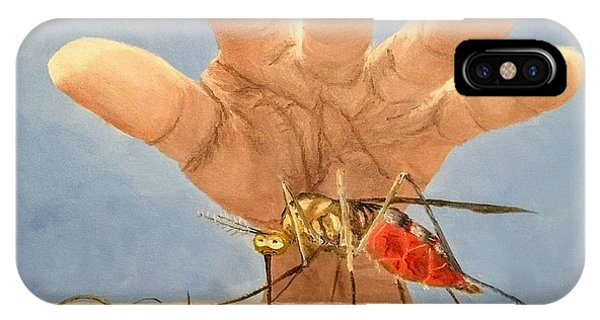 IPhone Case featuring the painting Ignorance Is Bliss by Kevin Daly