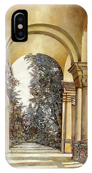 Palace iPhone X Case - Il Bosco Dopo Le Arcate by Guido Borelli
