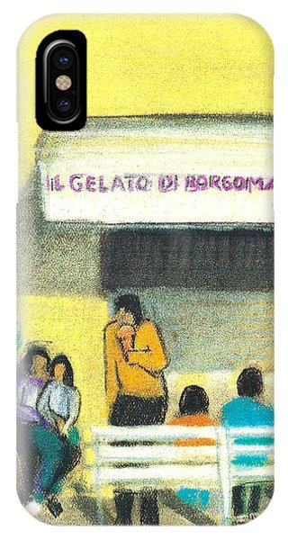 Il Gelato De Borgo Marina IPhone Case