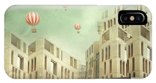 Surrealistic iPhone Case - Illustration Of A Several Modern by Valentina Photos